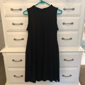 Little Black Dress with ruffle detail